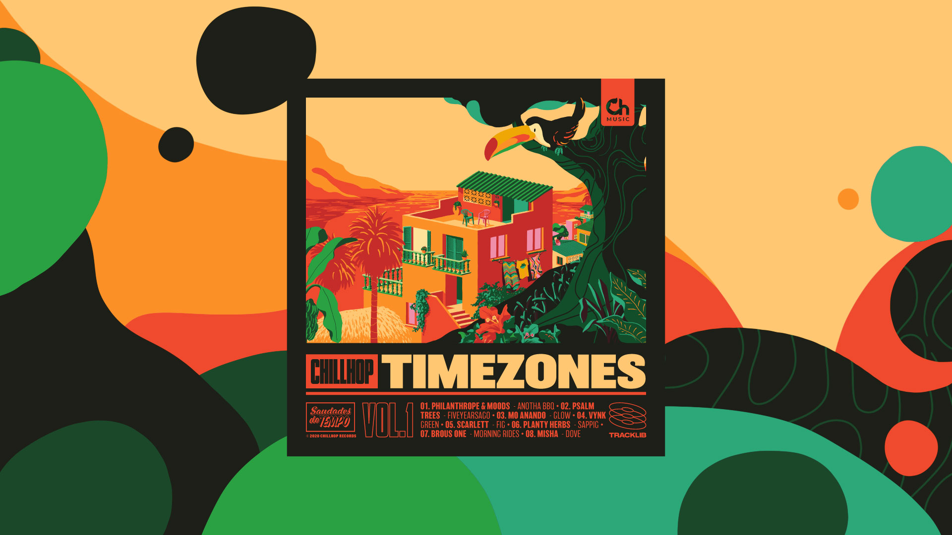 Chillhop Tracklib Timezones Vol.1 Saudades do tempo