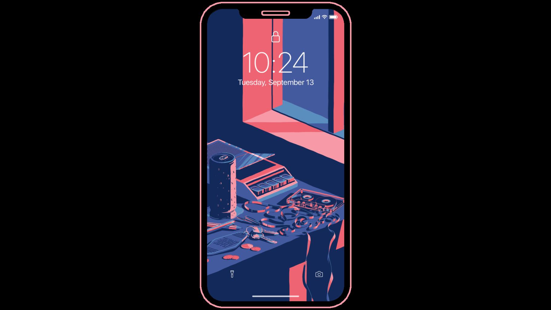 Splice Sunday Supply - Free Mobile Wallpaper Mockup