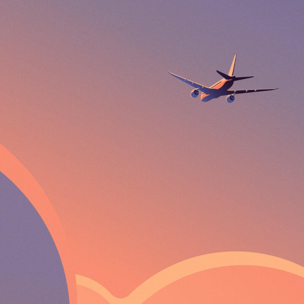 Loterias Keyvisual 01 - Airplane close up