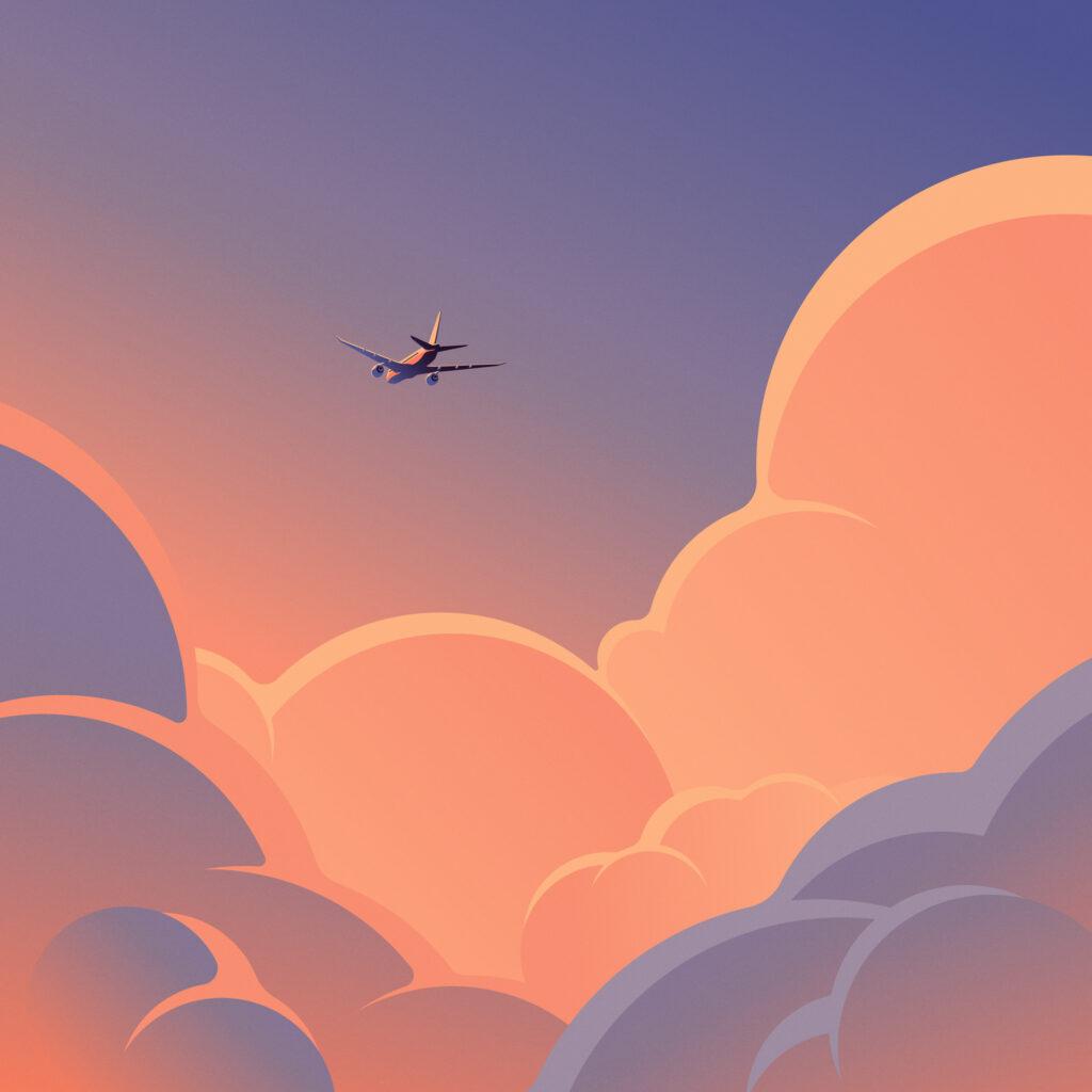 Loterias Keyvisual 01 - Airplane