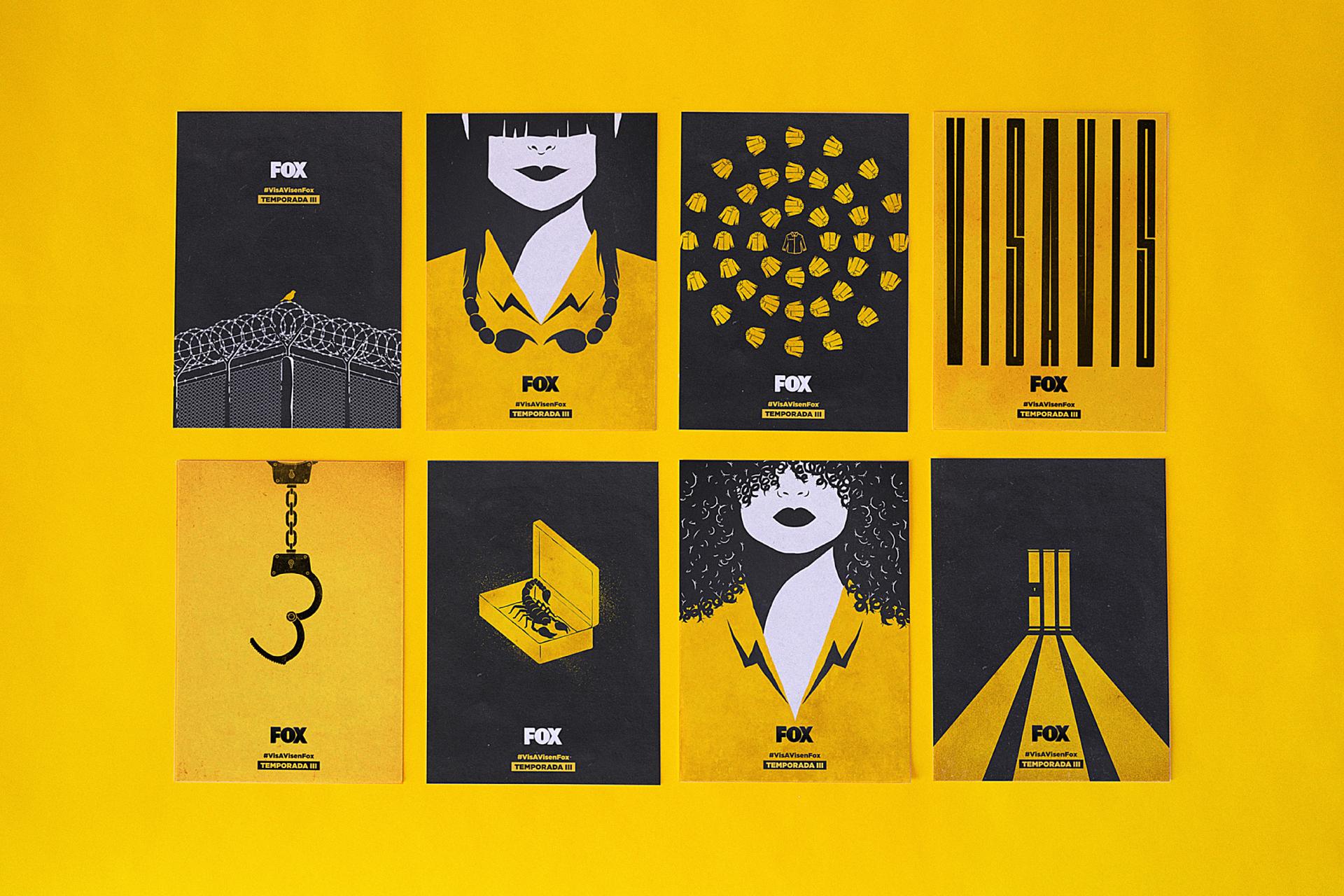 #VisAVisEnFox Teaser Posters Header