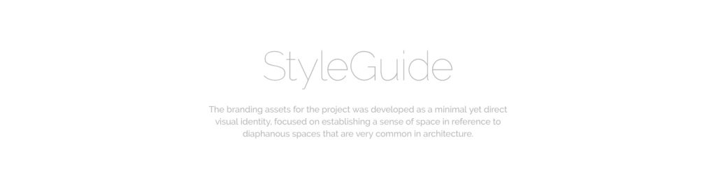 Zree Arch Styleguide
