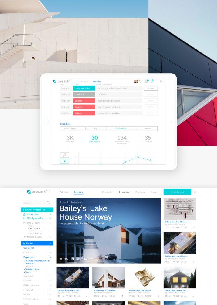Zree Arch Website