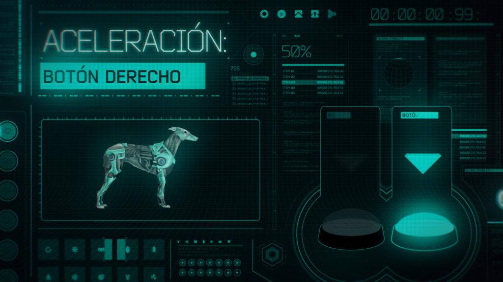 Absolut Greyhound Race Game Still 07