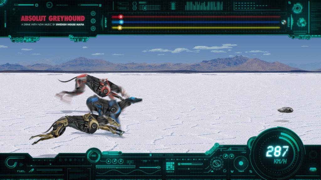 Absolut Greyhound Race Game Still 13