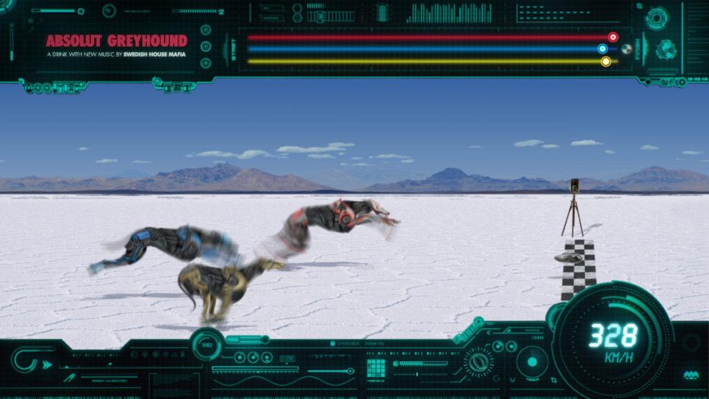 Absolut Greyhound Race Game Still 17