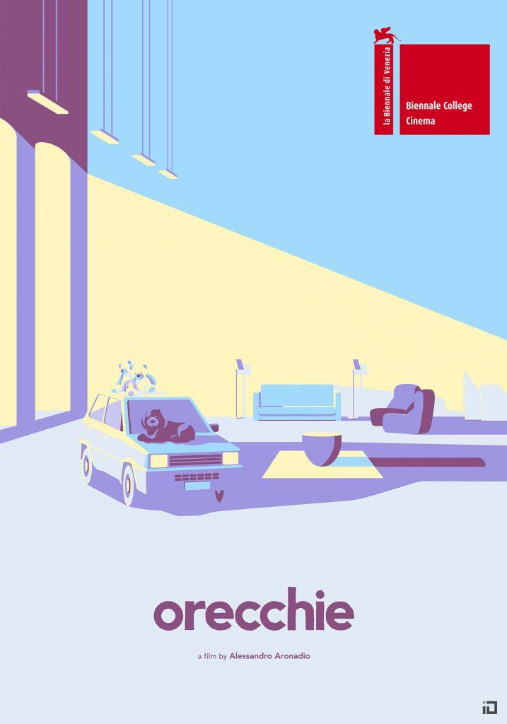 Biennale Di Venezia Orecchie Iconographic Poster