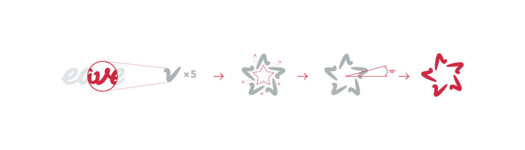 eave rebrand star icon