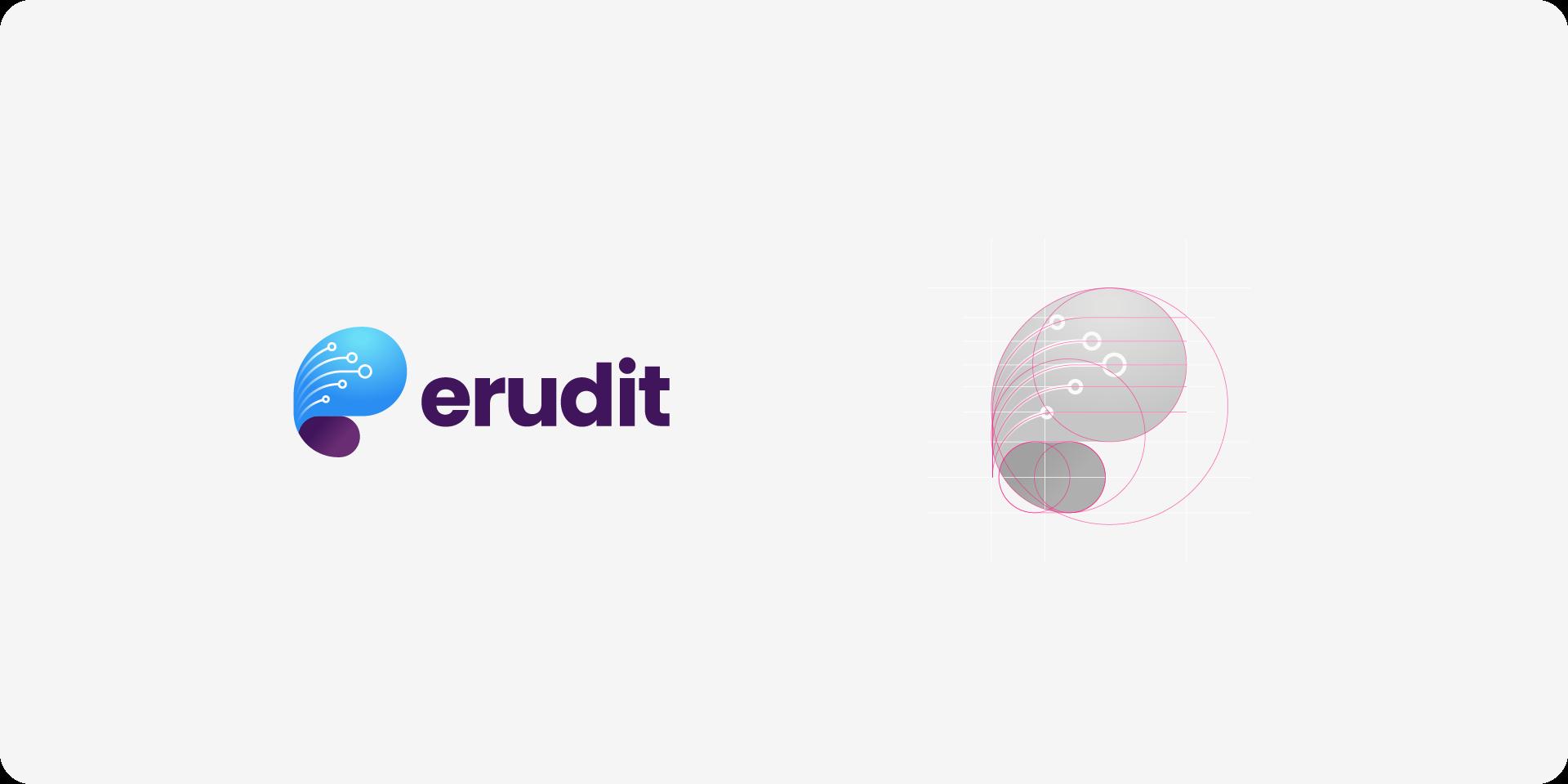 erudit logotype breakdown