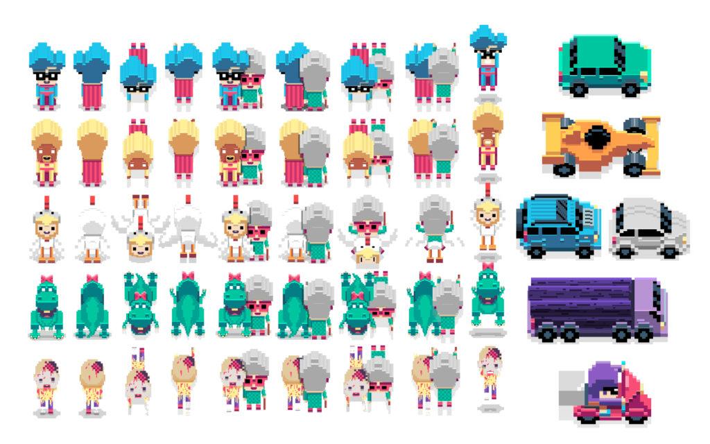Street Crosser Character Sheet