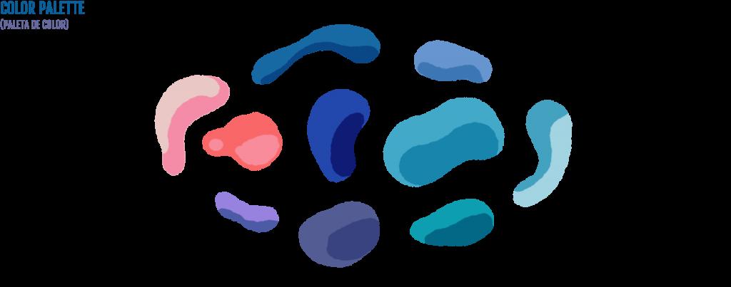 Una Gota de Agua Solán de Cabras Process Color Palette